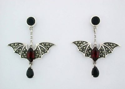 marcasite silver jewelry marvel earring 12