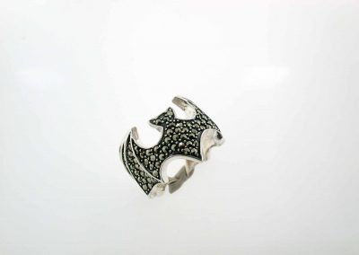 marcasite silver jewelry marvel ring 11